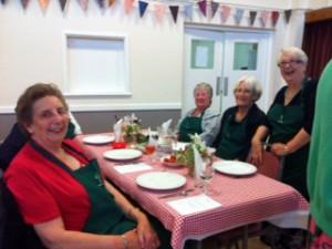 Group Meeting 2016 hostesses